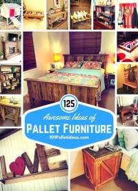 125 Awesome DIY Pallet Furniture Ideas