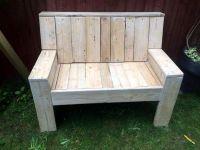 Pallet Garden Bench - 101 Pallet Ideas