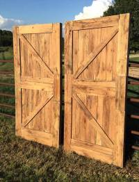 Doors Made Out of Pallets