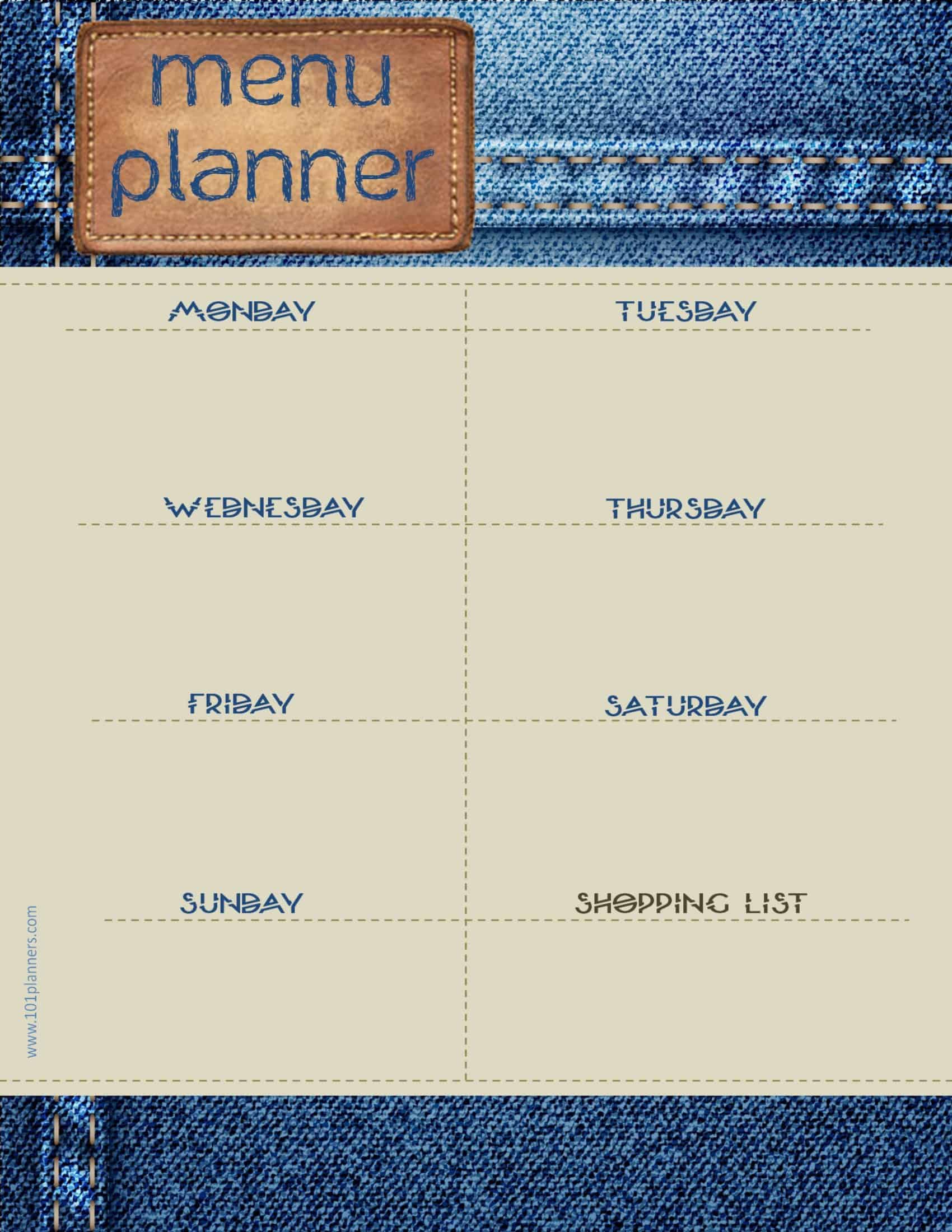 how to make a weekly planner