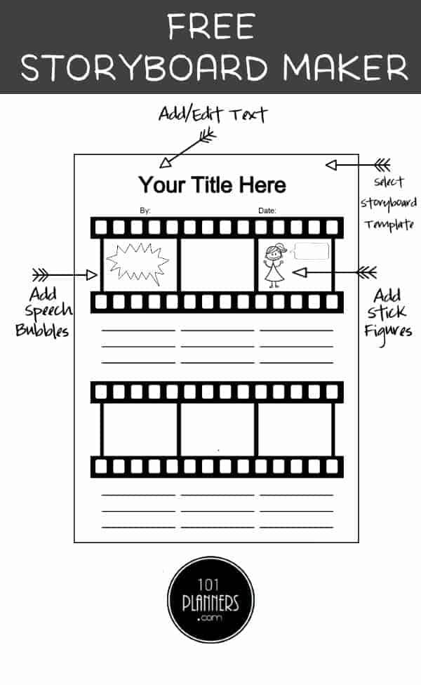 Free Storyboard Template Maker
