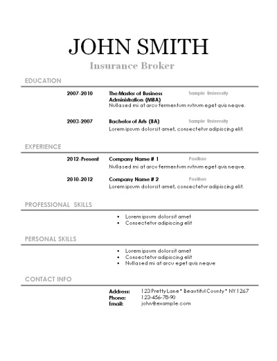 free online resume builder printable free resume creator online write and print your resume printable free