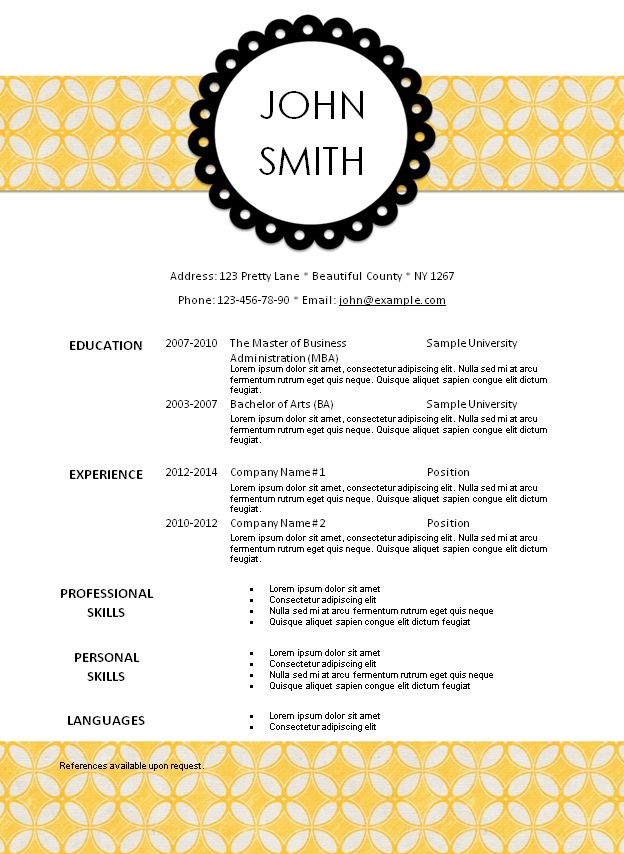 resume templates 101 - Akersart - resume templates 101