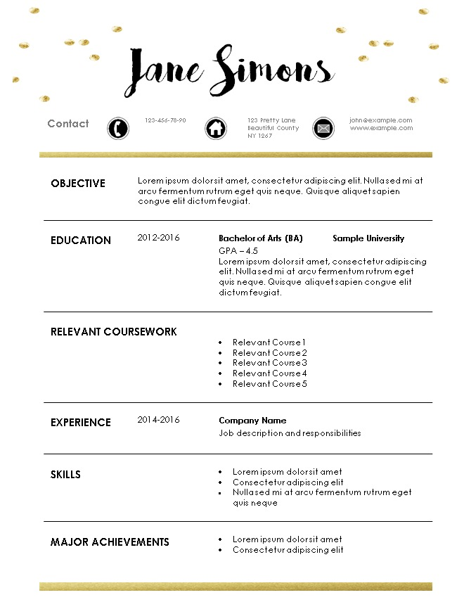 Resume For Internship Resume For Internship No Experience Resume - resume for internship