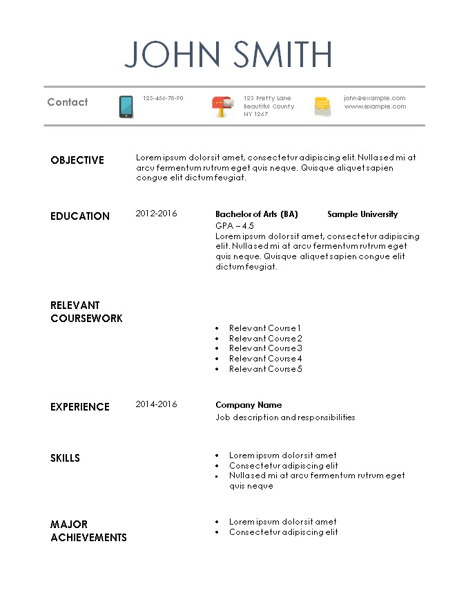 resume example for internship 3slufsluidsprekers