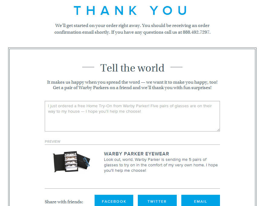 14 Golden Ideas to Increase Your ROI With Thank-you Pages 10