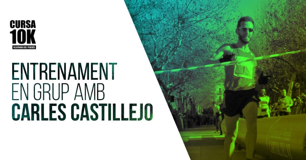 Entrenament 10kVila amb Carles Castillejo