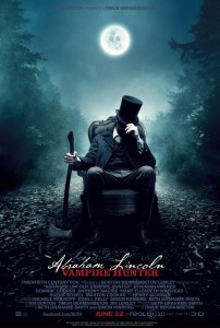 Abe Lincoln: Vampire Hunter one sheet
