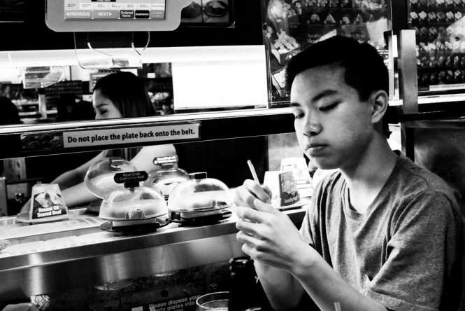 """Mouthful of Sushi"" Carrollton, 2016"