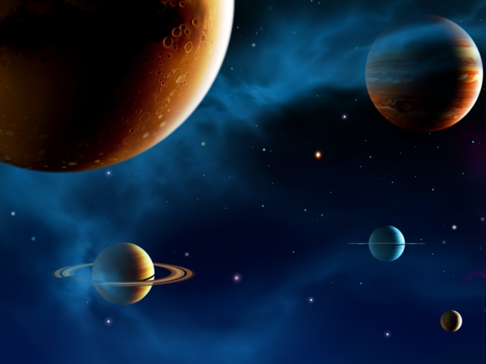 Dragon Ball Wallpapers 3d 14 Cg Illustrator Space Planet Universe The Universe Stars