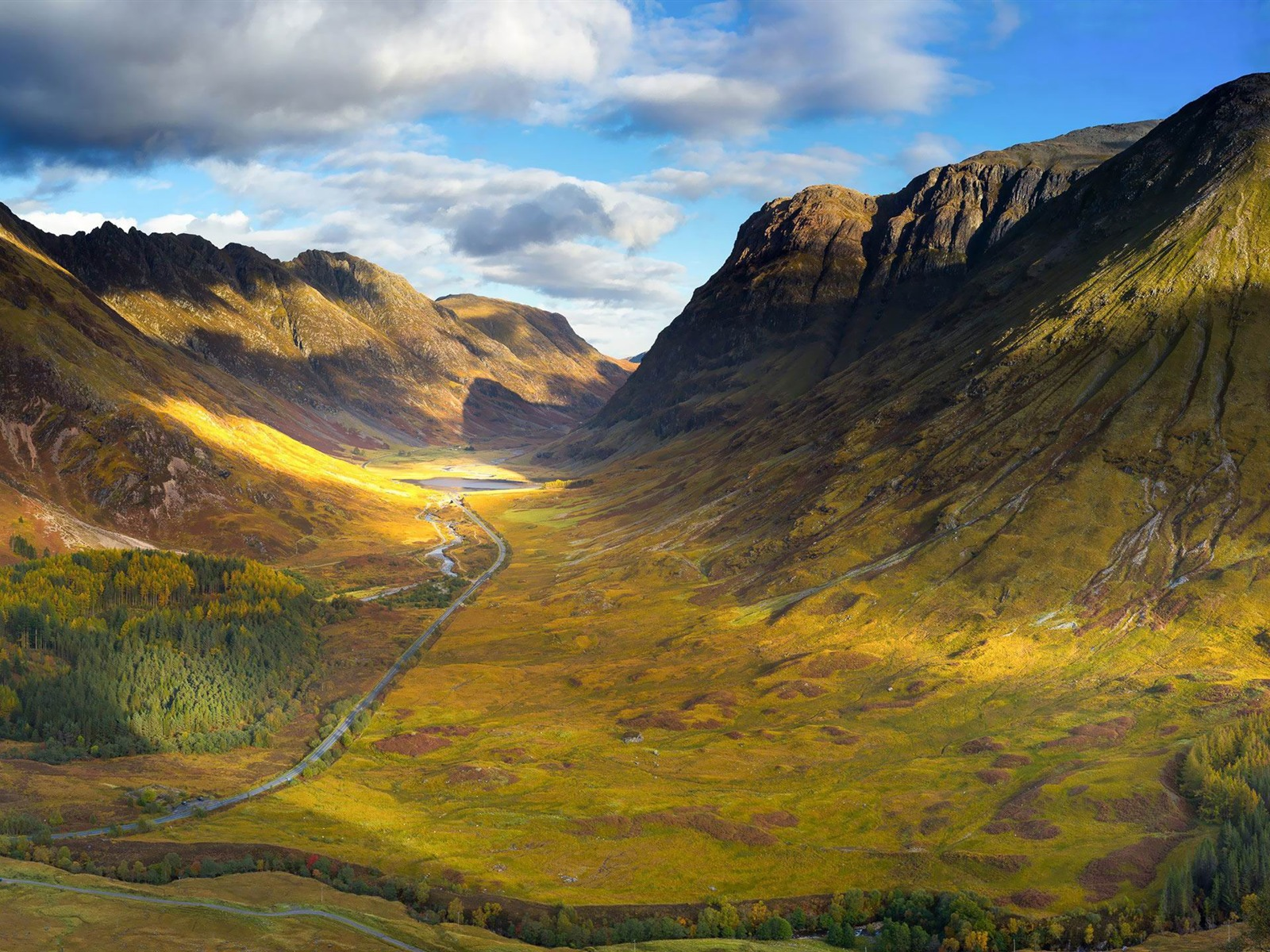 Beautiful Animal Wallpapers Mountain Valley Landscape Hd Widescreen Wallpaper Preview