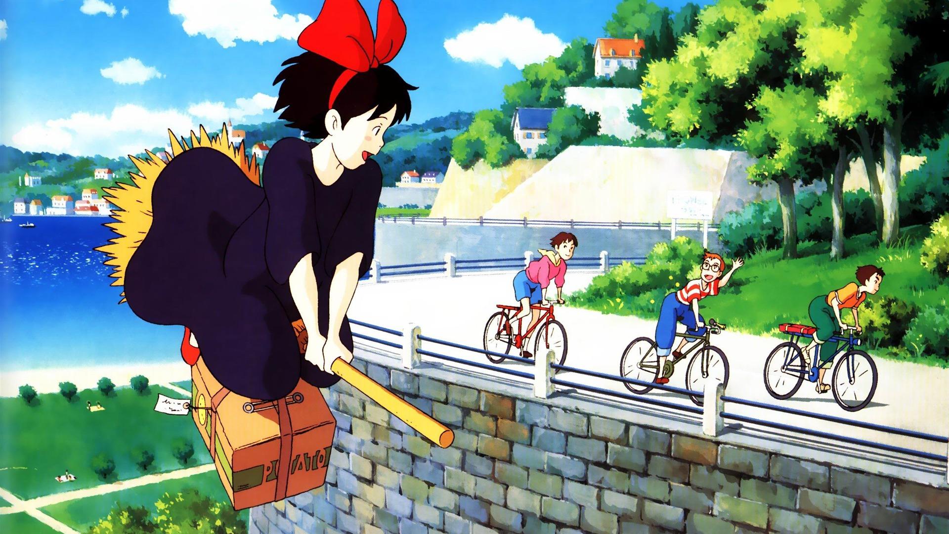 Wallpaper Dragon Ball 3d Hd Kiki La Petite Sorci 232 Re Cartoon Caract 232 Res Fond D 233 Cran