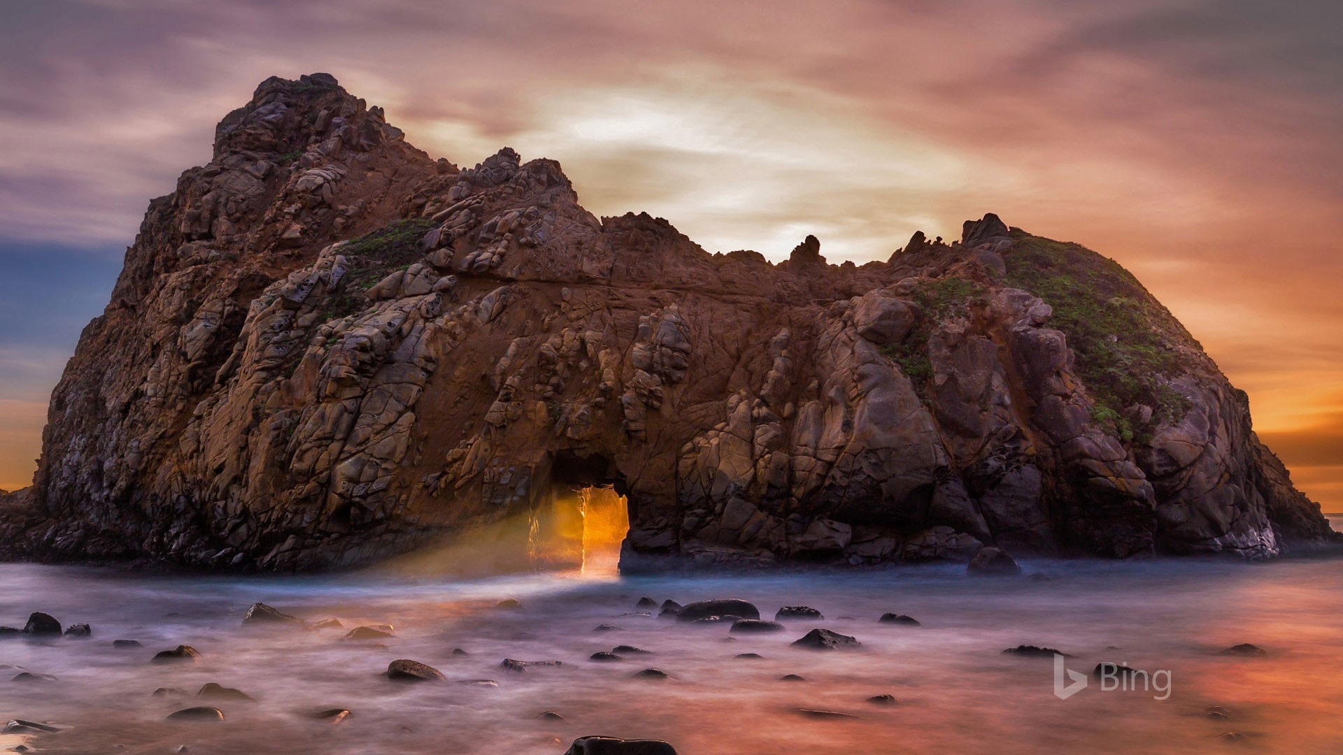 Alienware Iphone Wallpaper California Pfeiffer Beach At Pfeiffer Big Sur State Park