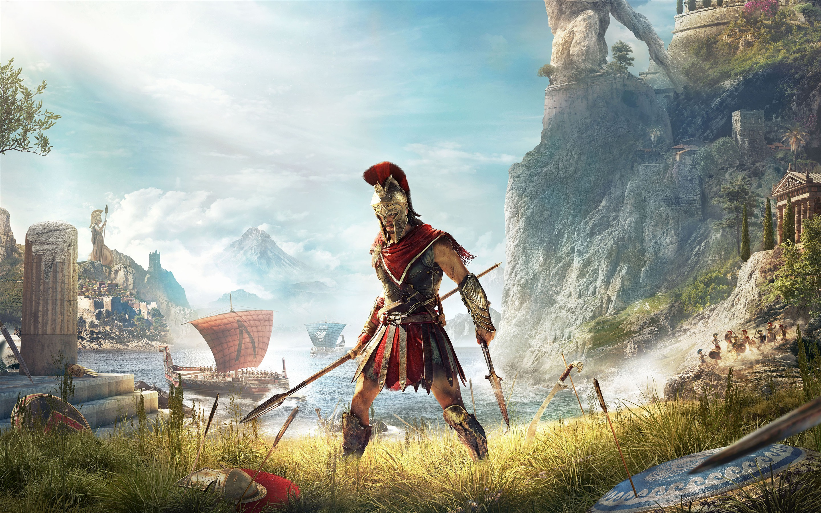 Universe Wallpaper Hd Assassins Creed Odyssey 2018 Gameplay 4k Poster Preview