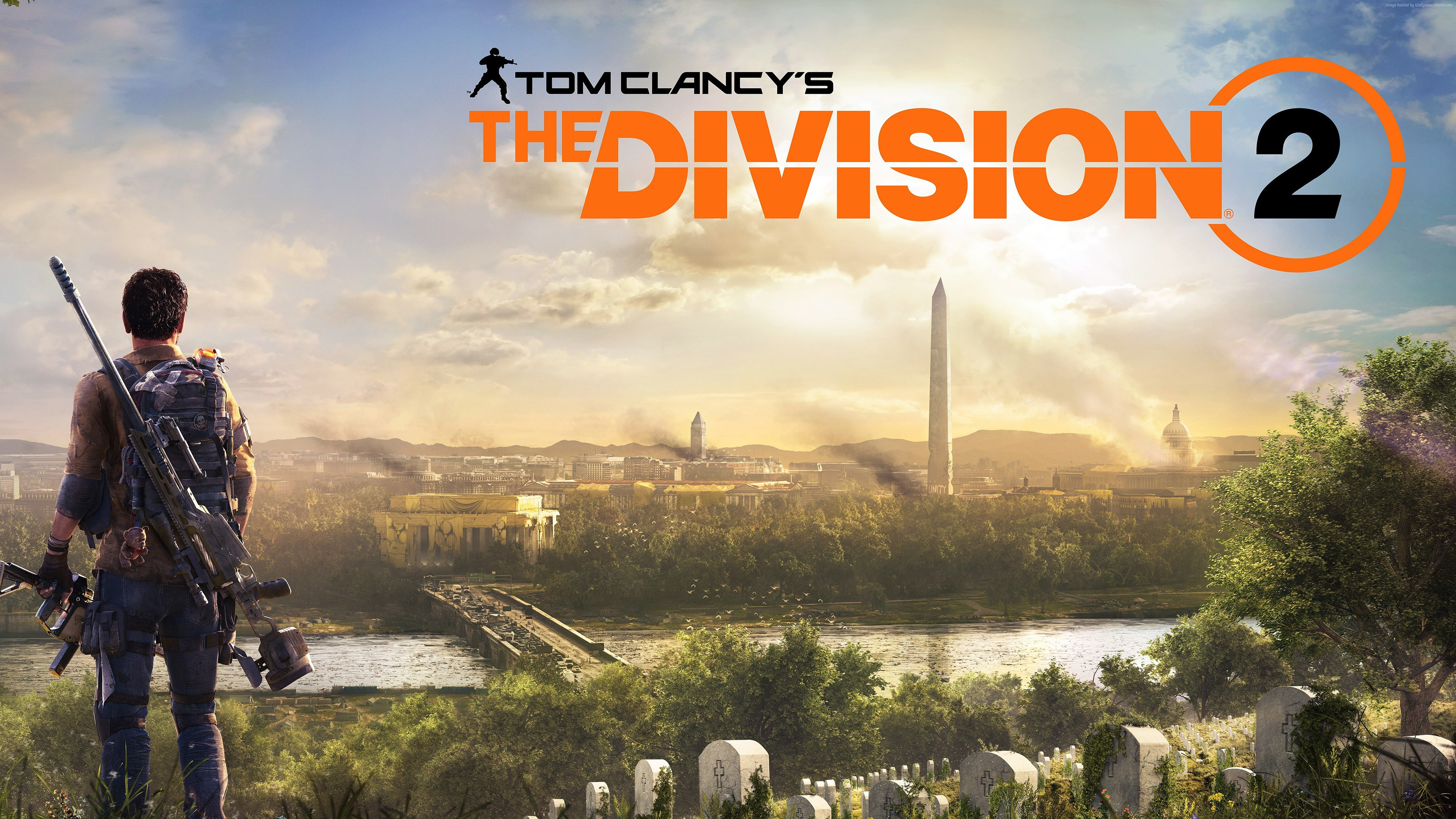 3440x1440 Wallpaper Pubg Tom Clancys The Division 2 Game 2018 Poster Preview