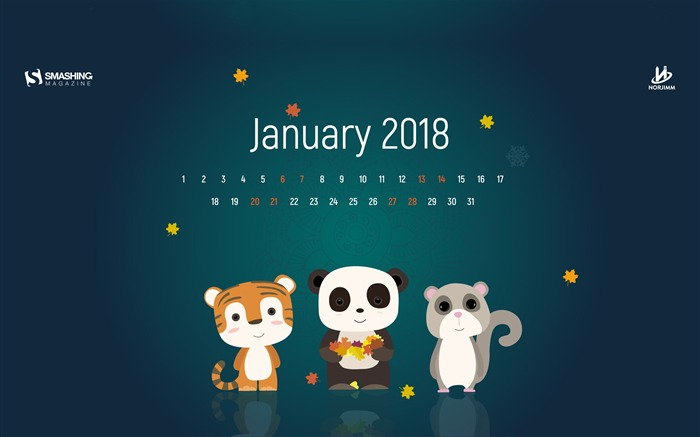 Cute November Calendar Wallpaper January 2018 Calendars Desktop Hd Wallpaper Album List