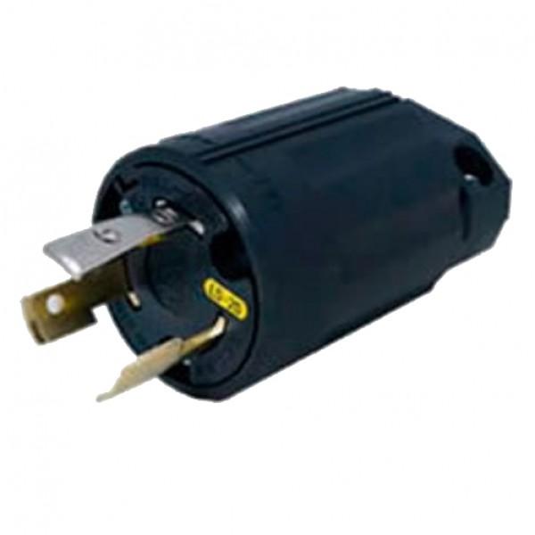 Regvolt 20 Amp, 125 Volt, NEMA L5-20P, 2P, 3W, Locking Plug