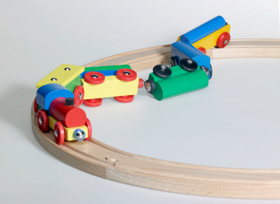 Toy-Train-Derailed