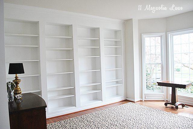 Diy Built In Custom Bookshelves Using Ikea Billy Bookcases