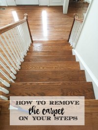Removing Carpeting From Stairs - Home The Honoroak