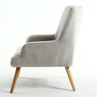 Accent Chair- Cinema Lounge Chair in Silver Grey - Chairs