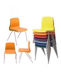 Metalliform NP3 Stacking Classroom Chair