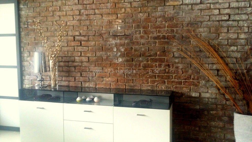 Liesego - wandgestaltung wohnzimmer rustikal