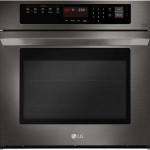 LG LWS3063BD Electric Single Wall Oven