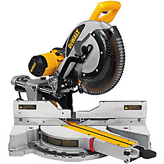 DEWALT 12-inch 15 amp Double Bevel Sliding Compound Mitre Saw