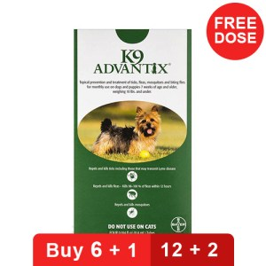 K9 Advantix for Dogs - Small Dogs Pups