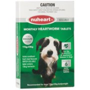 Nuheart Generic Heartgard for Medium Dogs