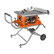 RIDGID 15 amp 10-inch Heavy-Duty Portable Table Saw