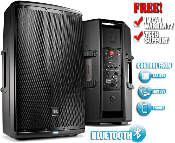 JBL EON615 DJ Speakers DJ Audio Chicago DJ Equipment 123DJ