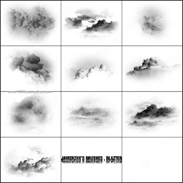 Cloud Brushes Photoshop Photoshop Free Brushes 123Freebrushes