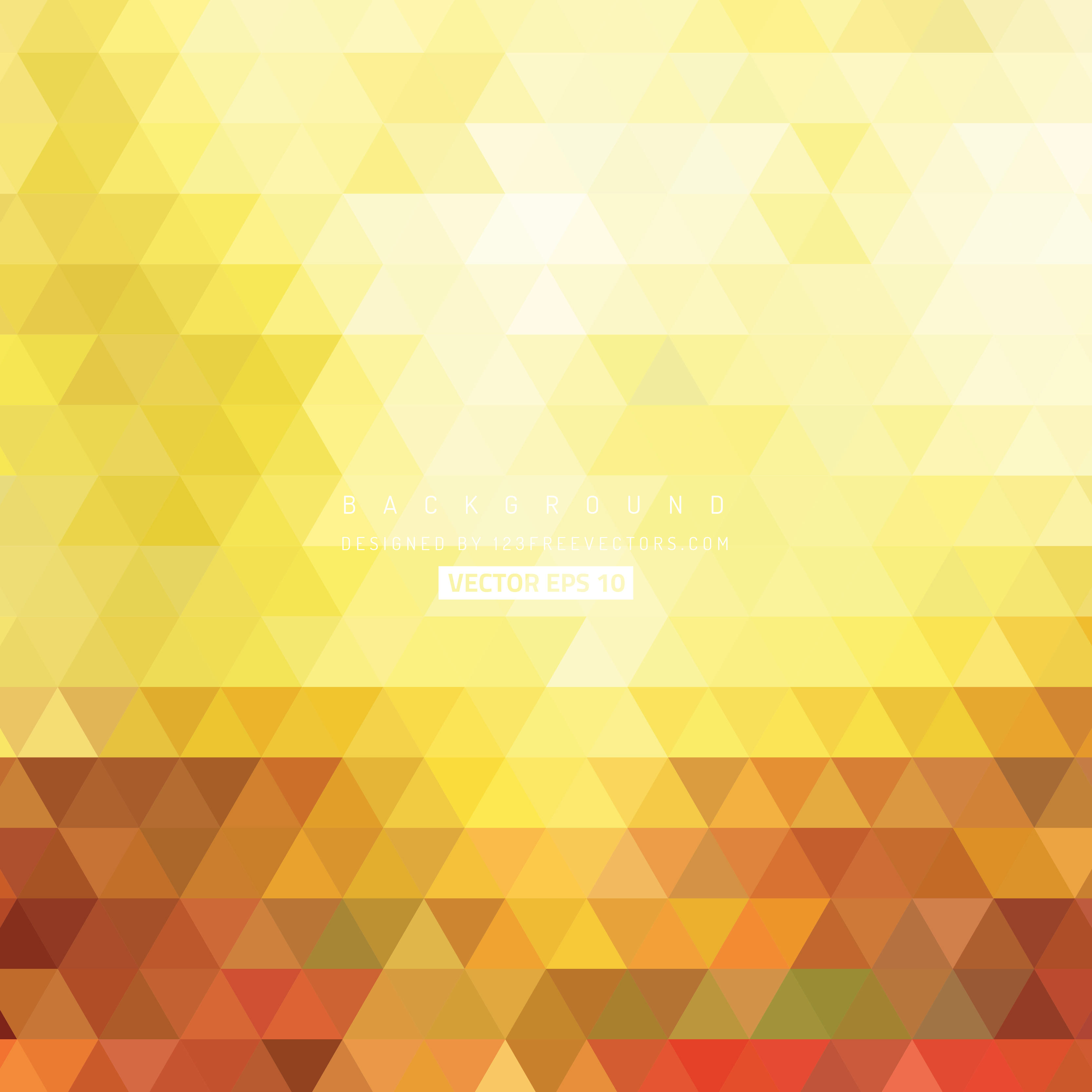 Yellow Background Design Vector