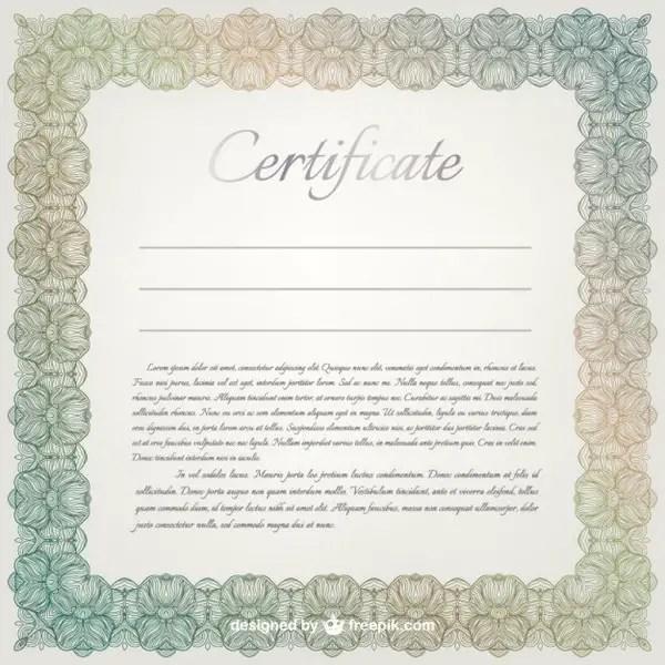 50+ Certificate Template Vectors Download Free Vector Art - certificate designs free