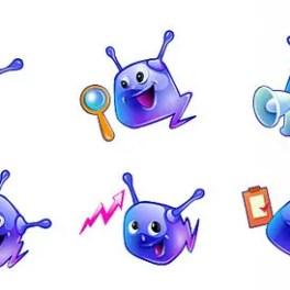 alien-mascots-free-vector