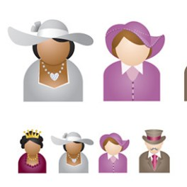 people-illustrations-suitable-for-avatars-free-vector