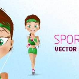 sport-girl-character-free-vector