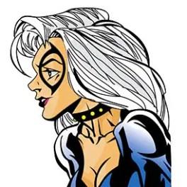 woman-illustration-black-cat-free-vector