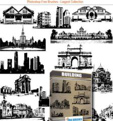 013_city_old-building-home-skyline-architecture-arch-city-free-vector