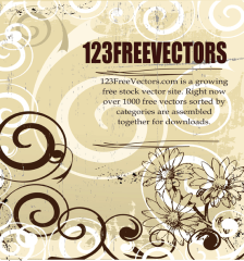 094_Floral_Vector_Background