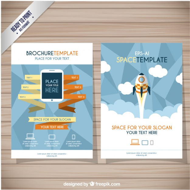 70+ Brochure Templates Vectors Download Free Vector Art  Graphics - flyers and brochures templates