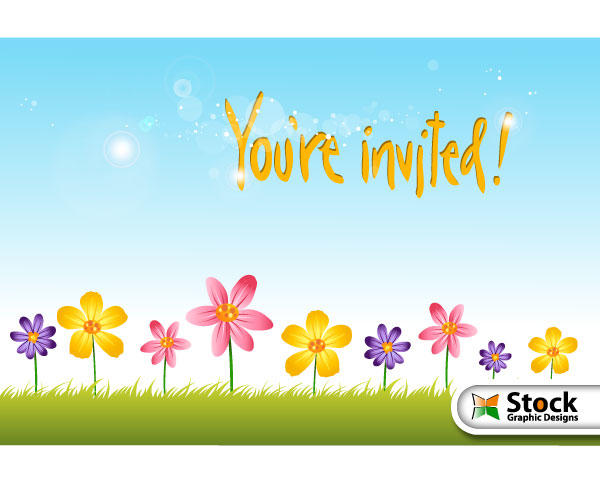 380+ Invitation Vectors Download Free Vector Art  Graphics