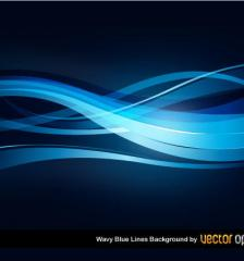 091-wavy-blue-lines-background-free-vector