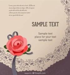 468-retro-rose-flower-greeting-card-vector