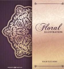 476-floral-invitation-vector-design