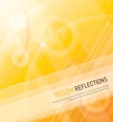 507-yellow-sparkle-reflection-background-vector