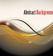522-abstract-modern-wavy-background-free-vector