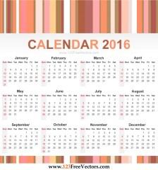 calendar-2016-free-vector
